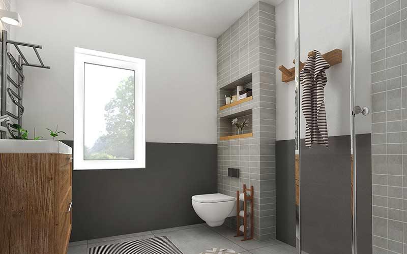 Badezimmer-Sanierung-Ausbau
